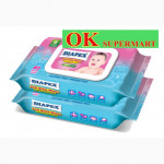 【2 X 80's】Diapex Soft Baby Wipes