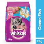 Whiskas 2-12 Month Ocean Fish 1.1kg