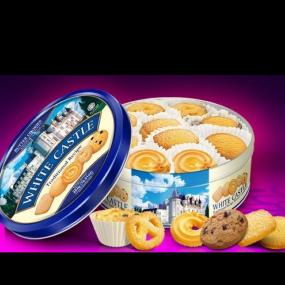 WHITE CASTLE Butter Cookies 454g