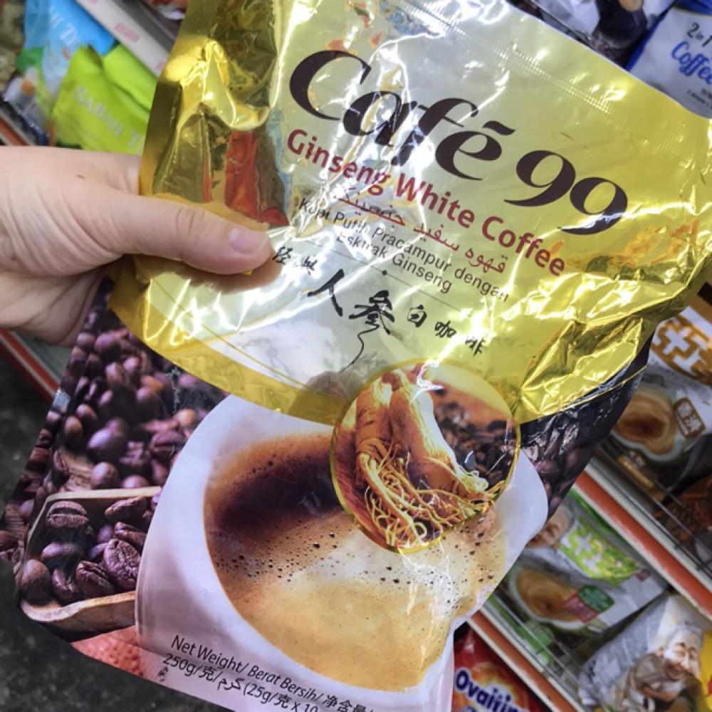 Cafe 99 Ginseng White Coffee 25g x 10