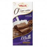 Valor 0% Added Sugar Milk Chocolate 100g