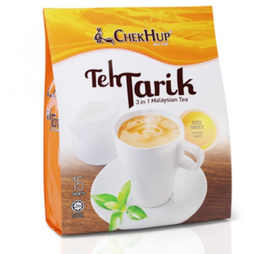 【12 X 35g】Chek Hup Teh Tarik Kurang Manis