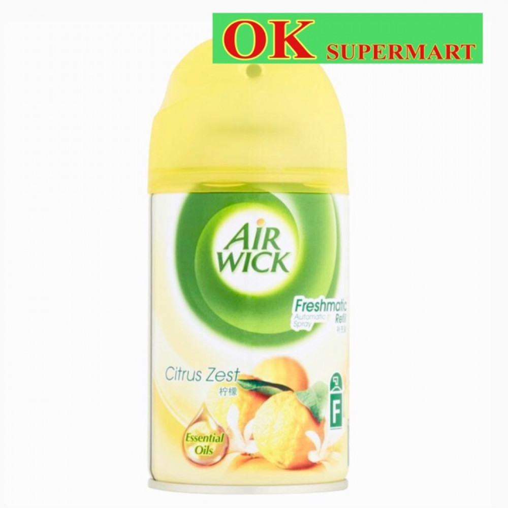 Air Wick Freshmatic Refill 250ml Citrus Zest