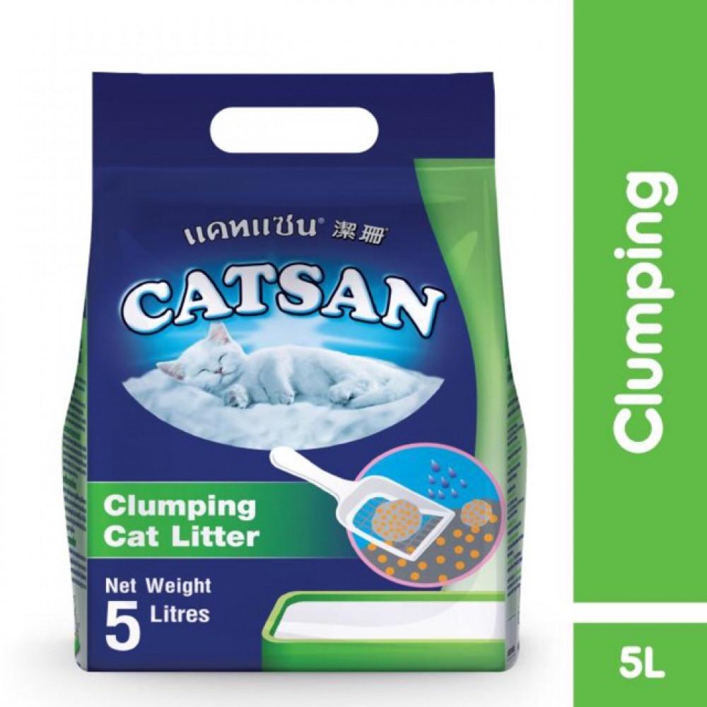 【5L】Catsan Clumping Cat Litter / Pasir Kucing