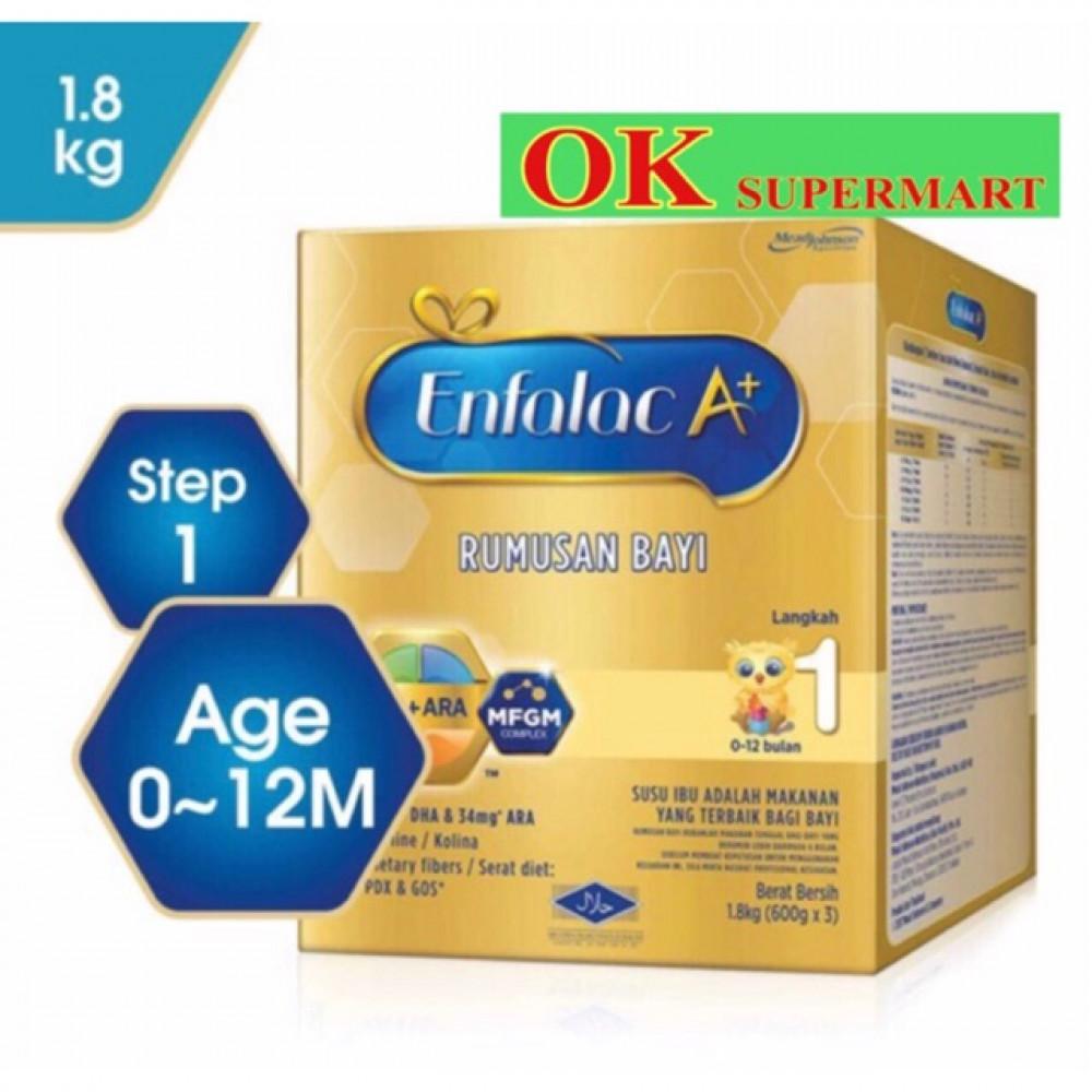 Enfalac A+ With MFGM 1.8kg