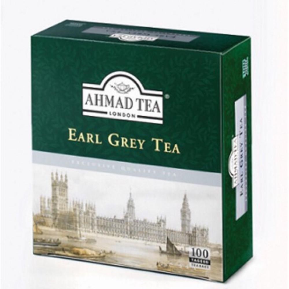 【100's Tagged】AHMAD TEA Earl Grey Tea Teabag