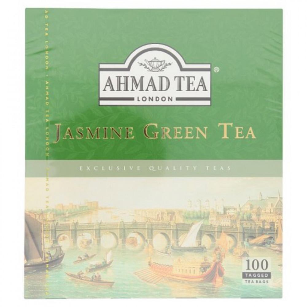 【100 Tagged Teabag】AHMAD TEA Jasmine Green Tea