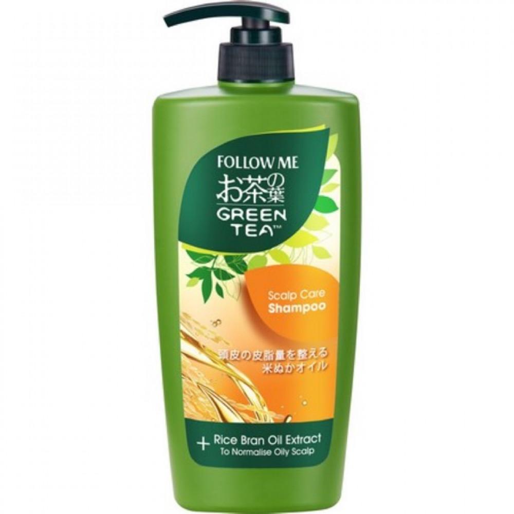 Follow Me Green Tea Scalp Care Shampoo 650ml