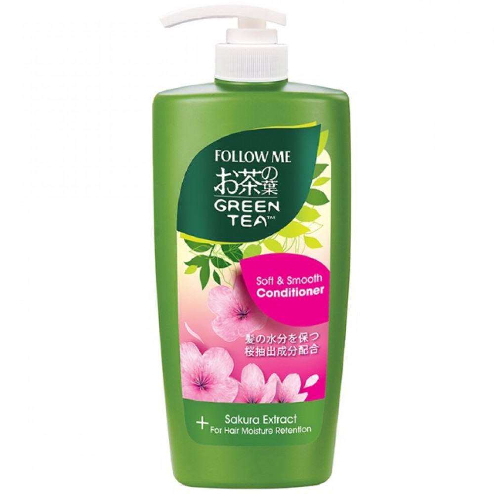 Follow Me Green Tea Soft & Smooth Conditioner 650ml