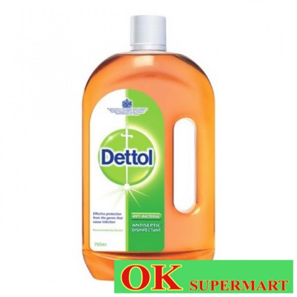 【750ml】Dettol Anti-bacteria Disnfectant