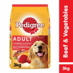Pedigree Beef & Vegetables 3kg Dog Food