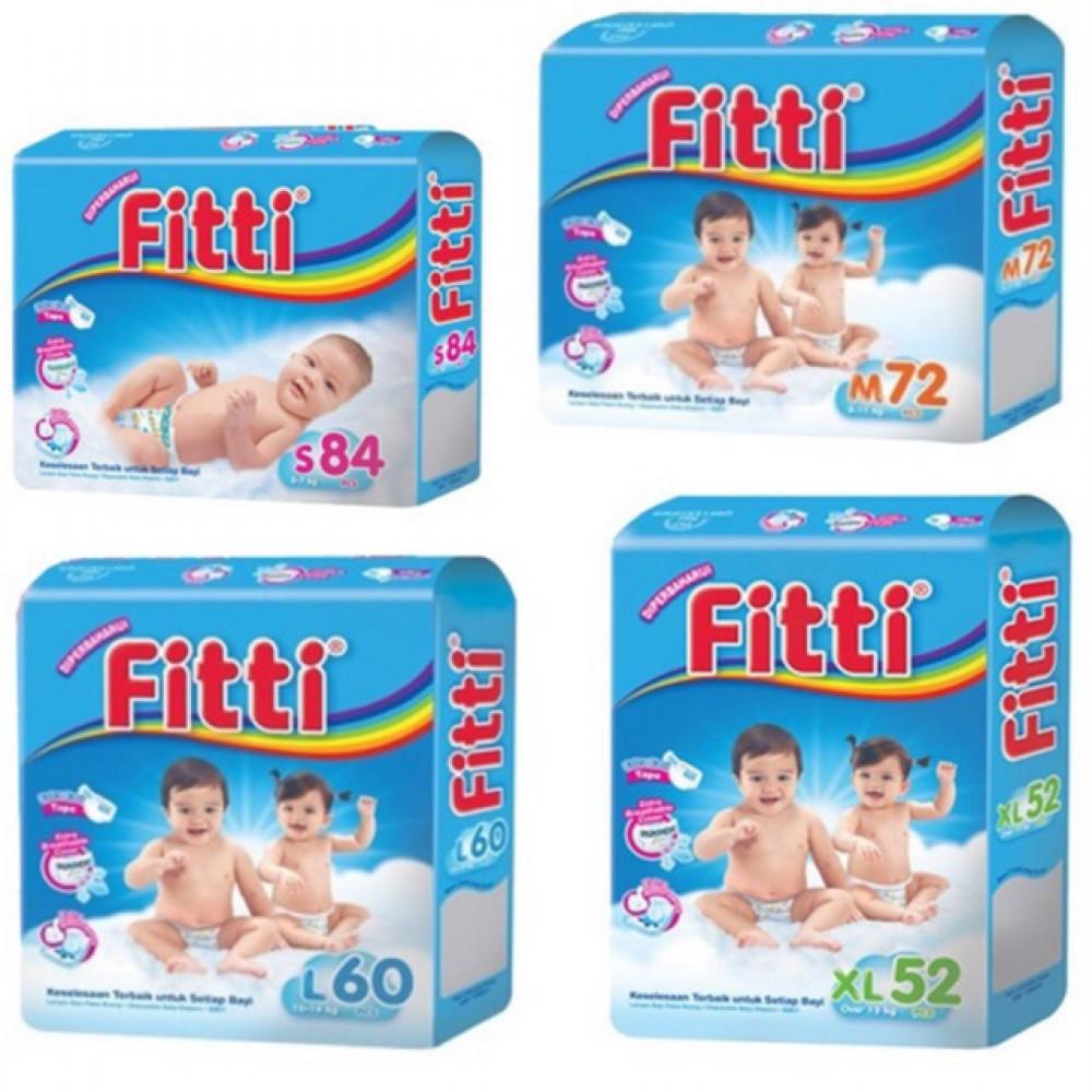 Fitti Basic Diapers Mega Pack