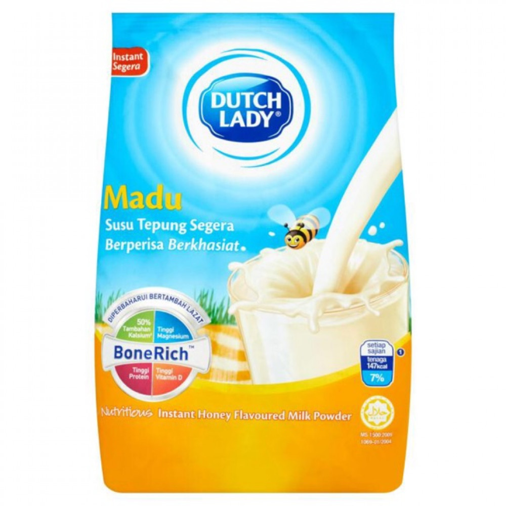 【1kg】Dutch Lady Instant Honey Milk Madu Segera