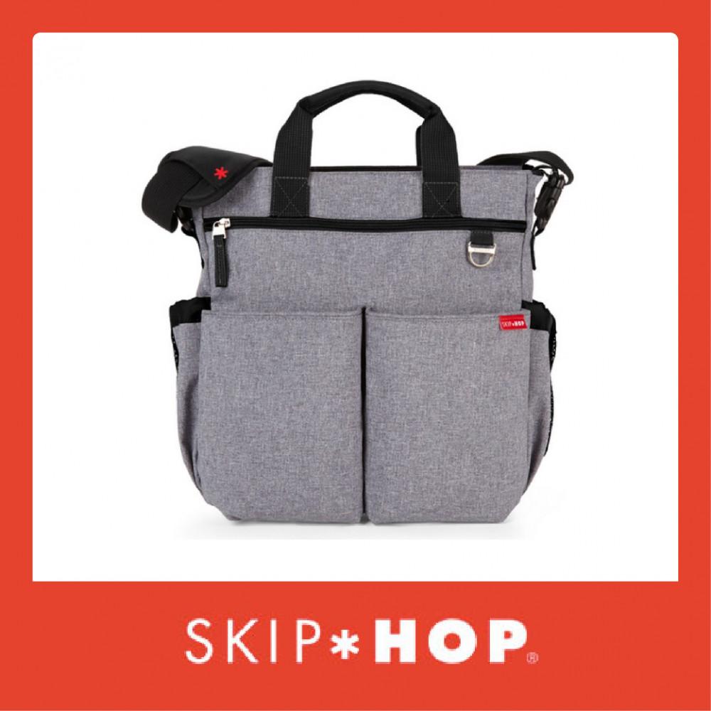Skip Hop Duo Signature Diaper Bag - Heather Grey