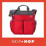 Skip Hop Duo Signature Diaper Bag - Red