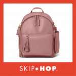 Skip Hop Greenwich Simply Chic Backpack- Dusty Rose