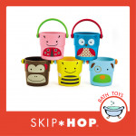 Skip Hop Explore & More Zoo Stack & Pour Buckets