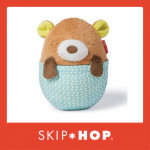 Skip Hop Moonlight & Melodies Hug Me Projection Soother - Bear