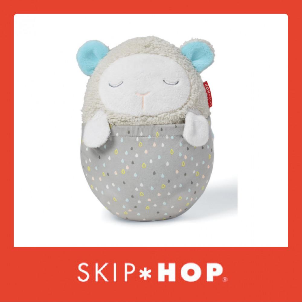 Skip Hop Moonlight & Melodies Hug Me Projection Soother - Lamb