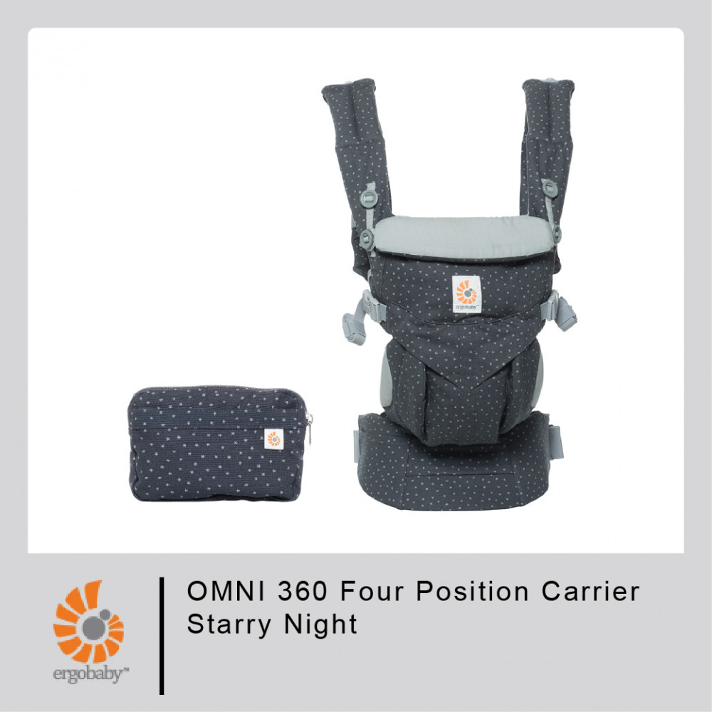 Ergobaby OMNI 360 Four Position Carrier-Starry Night