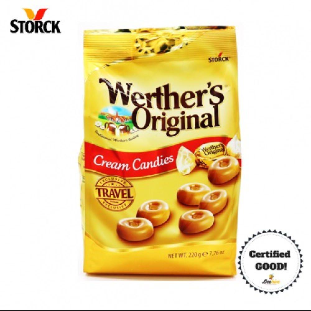 Werther's Original Cream Candies 220g