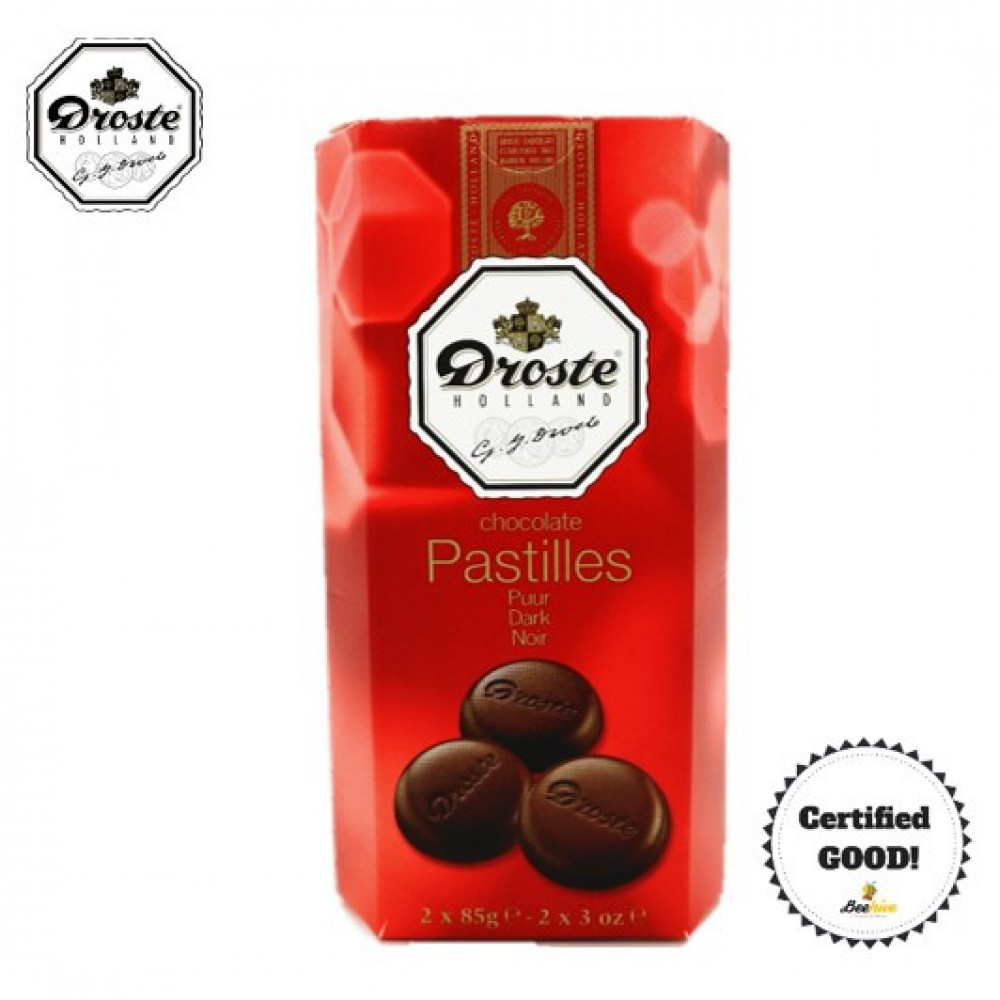 Droste Dark Chocolate Pastilles 2x85g