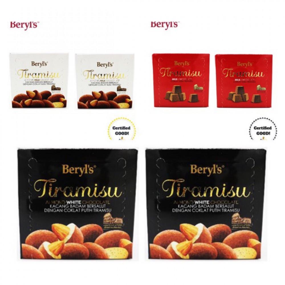 BERYL'S Tiramisu Chocolates 2 x 65g *FREE Note Writing*