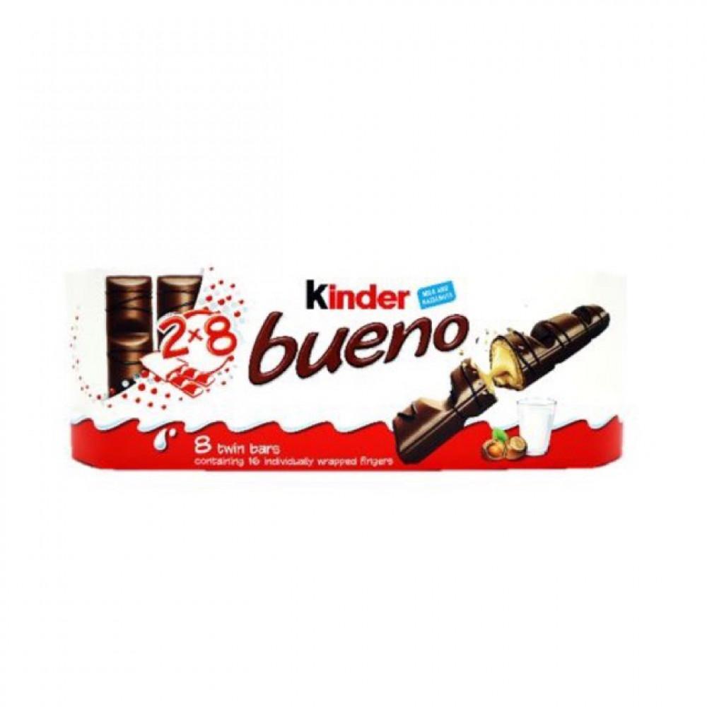 Kinder Chocolate - Kinder Bueno (8packs, 2 bars per pack)