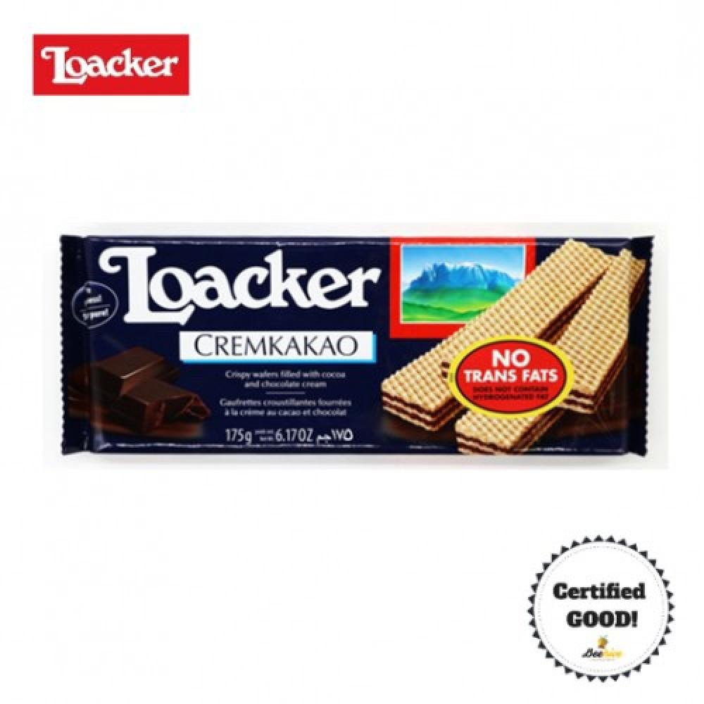 Loacker Cremkakao Chocolate Cream Wafer 175g