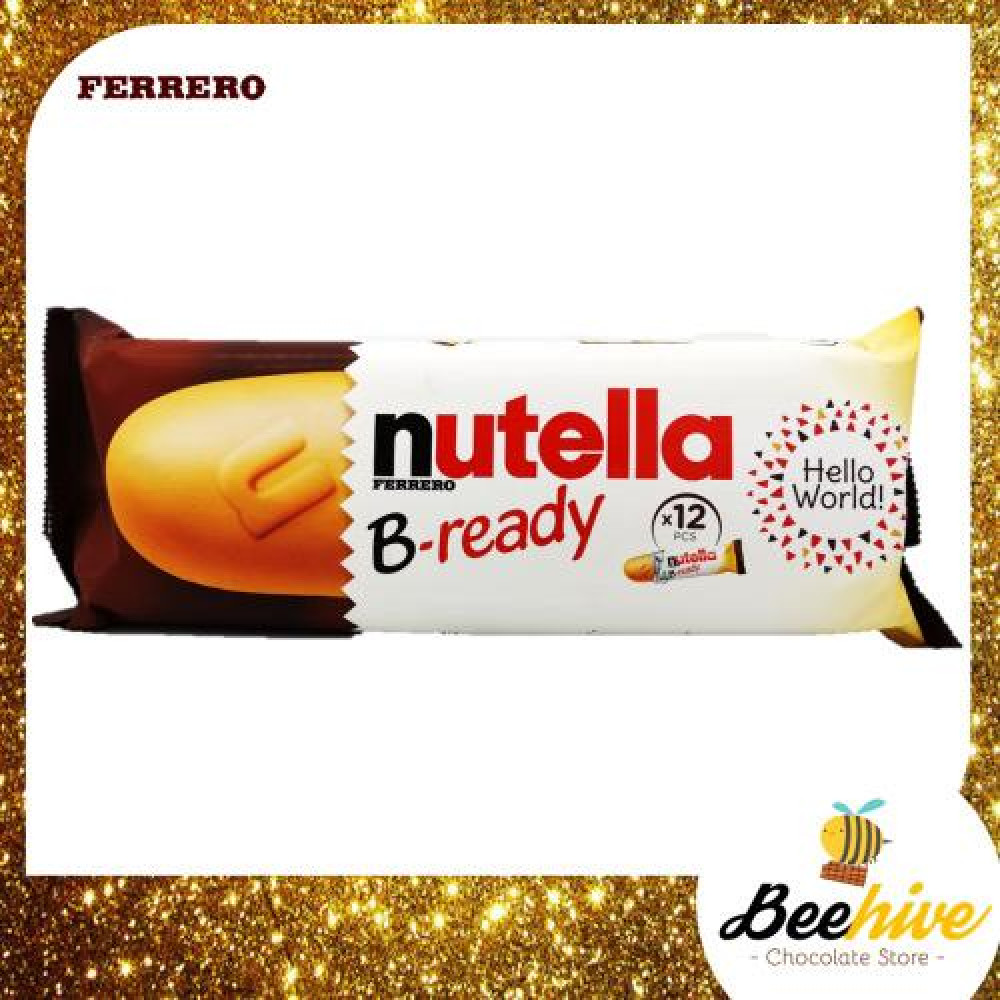 Nutella B Ready Chocolate Biscuits 12pcs 264g