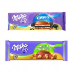 MILKA Chocolate Oreo / Hazelnut [2 x 300g]