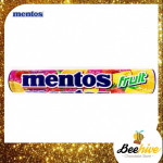 Giant Mentos Tube Fruit Chewy Candy 8 rolls 296g