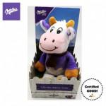 Milka Lila the Alpine Cow Doll with 15pieces Milka Chocolates