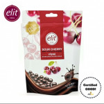 elit Dark Chocolate Covered Sour Cherry with Fruit Cube 125g