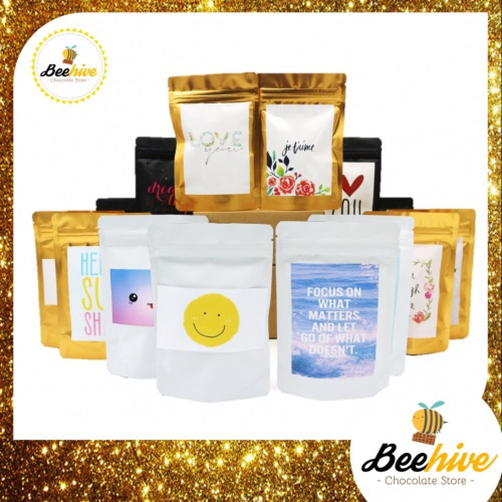 Beehive 14 Days of Joy Chocolate Snack Surprise Gift Set (Free Note Writing)