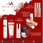 PROMO BUY MEERACLE RM 100++  GETS FREE QUIVER FACIAL BRUSH