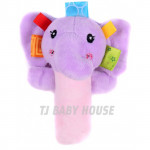 Sozzy Baby Toy Baby Hand Shank Rattle Soft Toys [BB Sounds]-Ready Stock