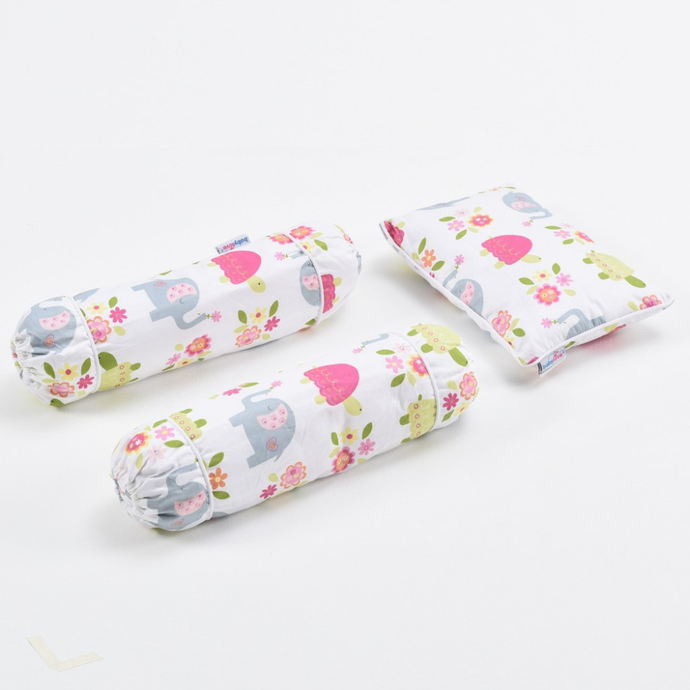 Babylove 3 in 1- Pillow & Bolsters Set-Ready Stock