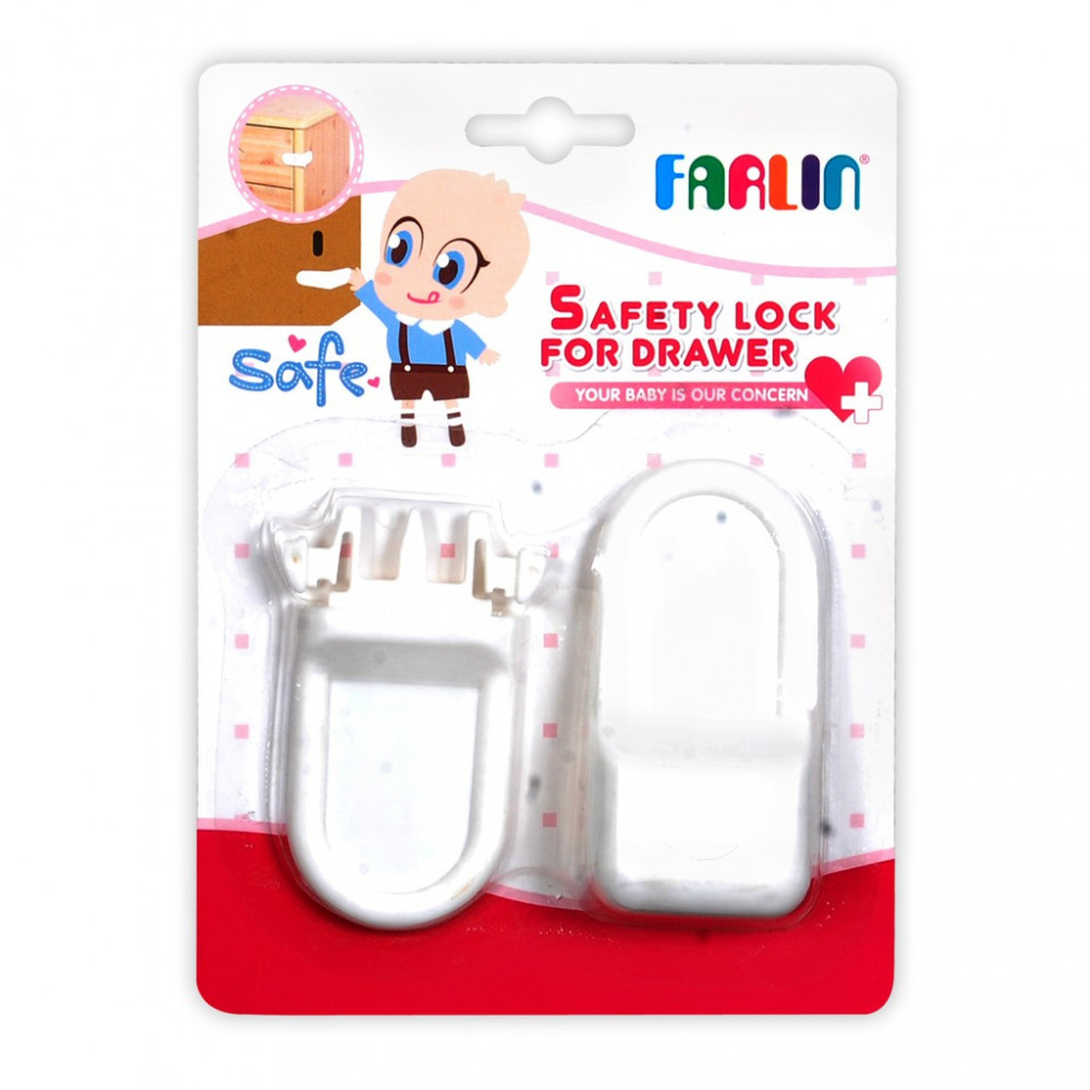 Farlin Safety Lock For Drawer-Ready Stock