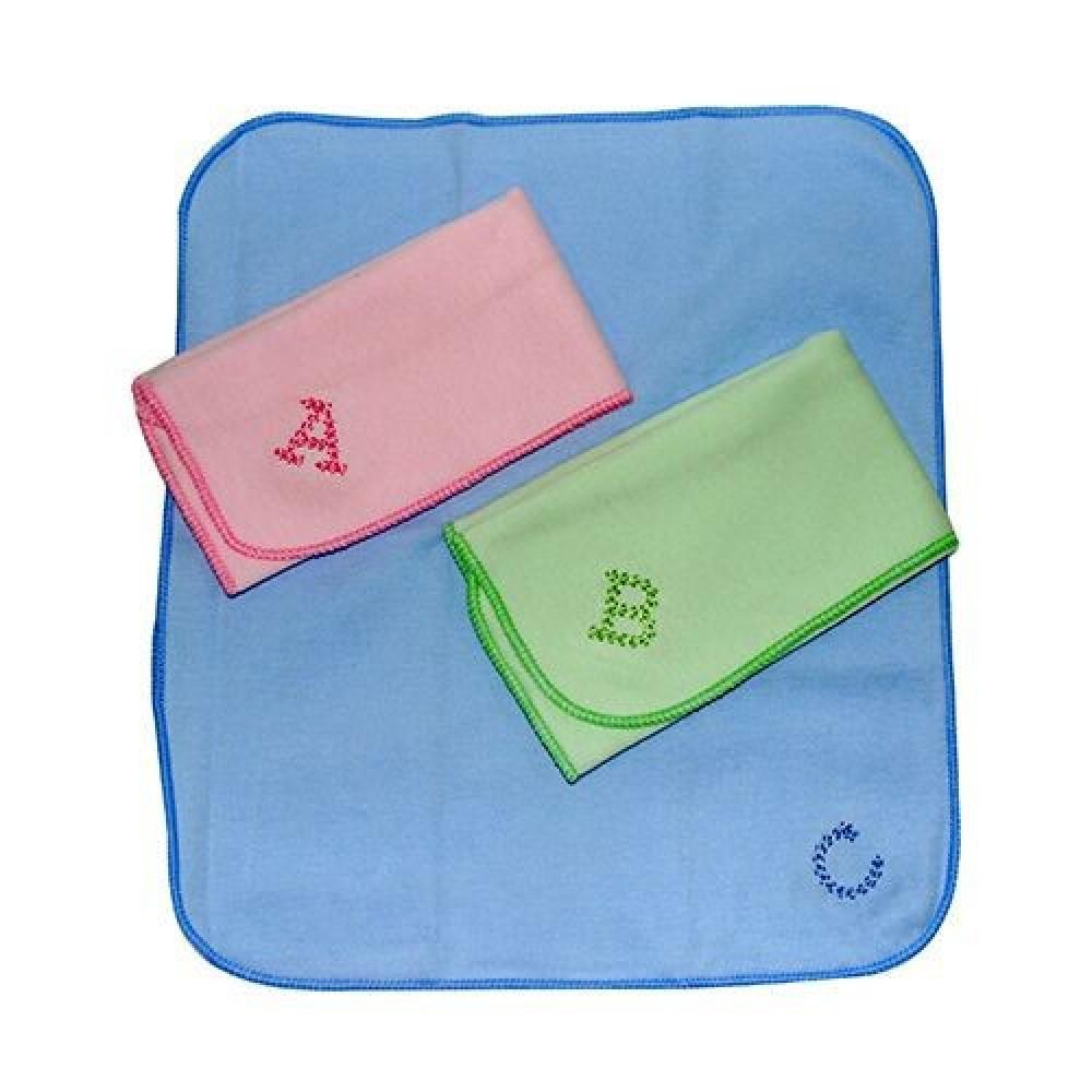Babylove 3'S ABC Cotton Washcloths-Ready Stock