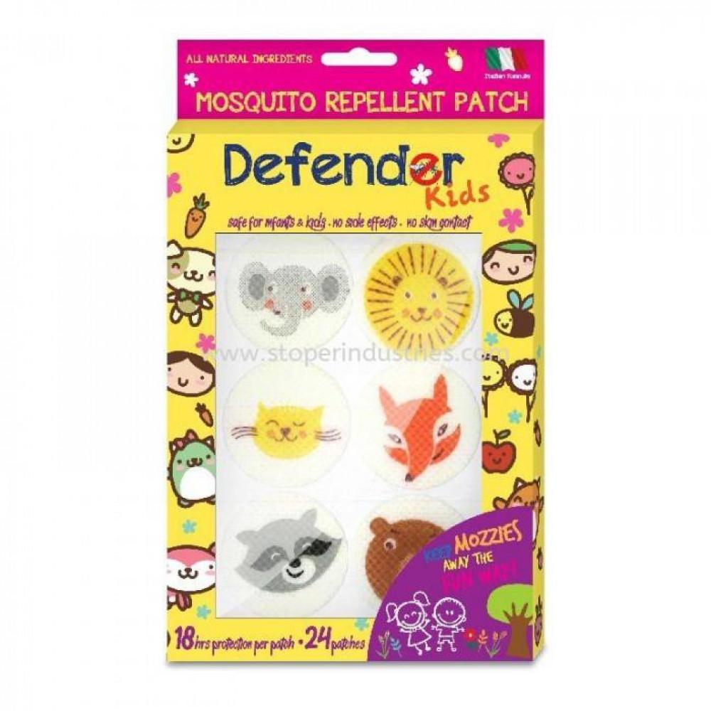 Defender Kids Mosqutio Repellent Patch- 18pcs-Ready Stock