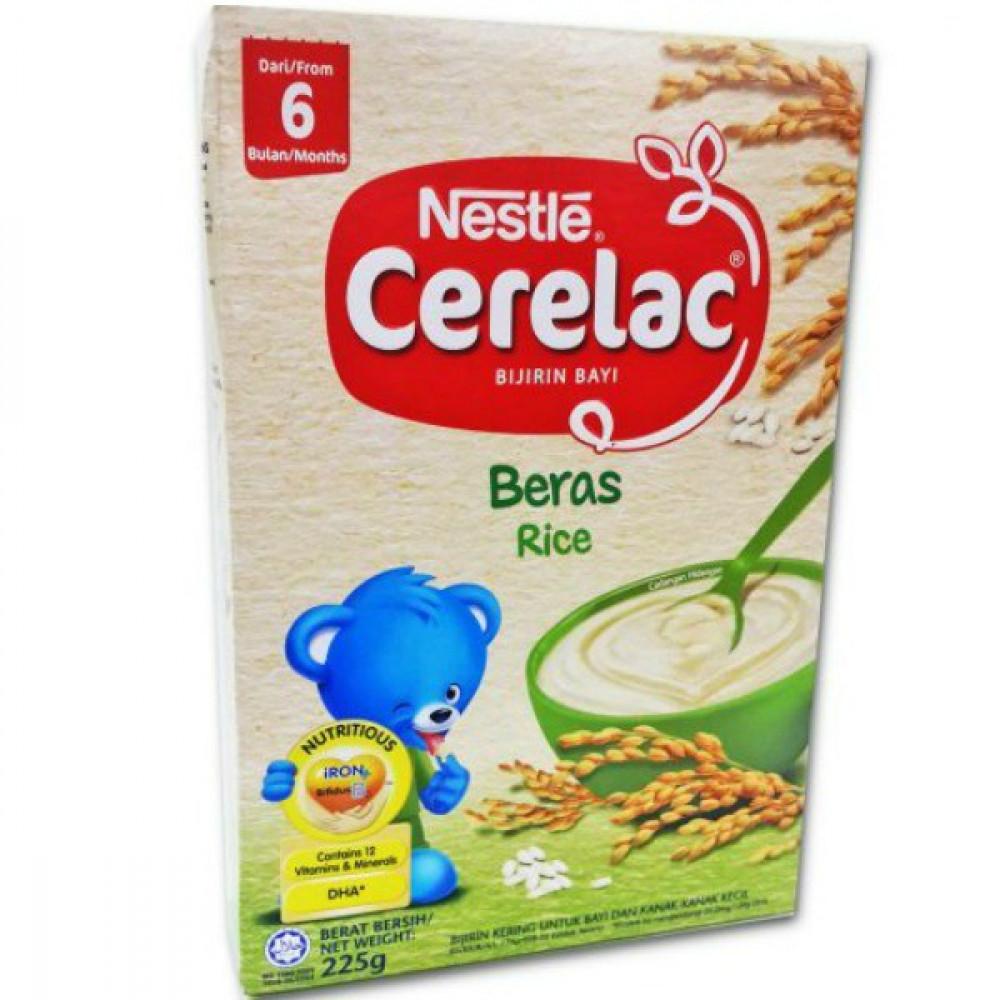 Nestle Cerelac Rice 225g-Ready Stock