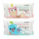 K-Mom Natural Pureness Baby Wet Wpes -100PCS-Ready Stock