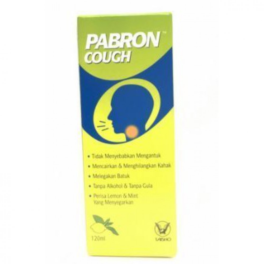 Pabron Cough Kids Syrup (120ml)-Ready Stock