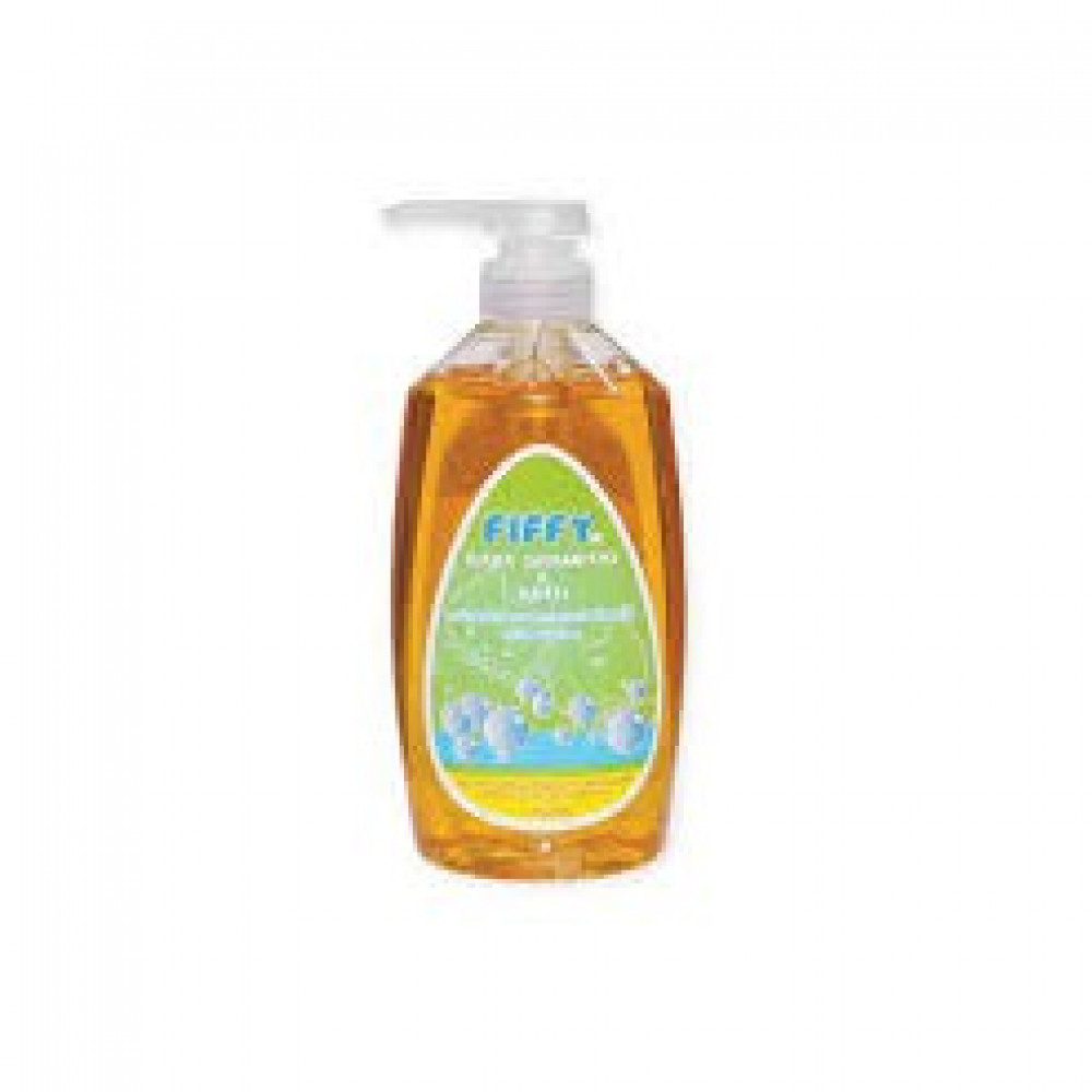 Fiffy Honey Flavor Baby Shampoo & Bath 750ML-Ready Stock