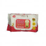K-MOM Natural Pureness Premium Baby Wet Wipes with Embo Cap-80 pcs-Ready Stock