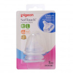 Pigeon SofTouch™ Peristaltic PLUS Wide-Neck Nipple-Ready Stock