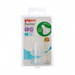Pigeon Peristaltic Nipple For Standard-Neck Bottles S/M/L/Y-Ready Stock