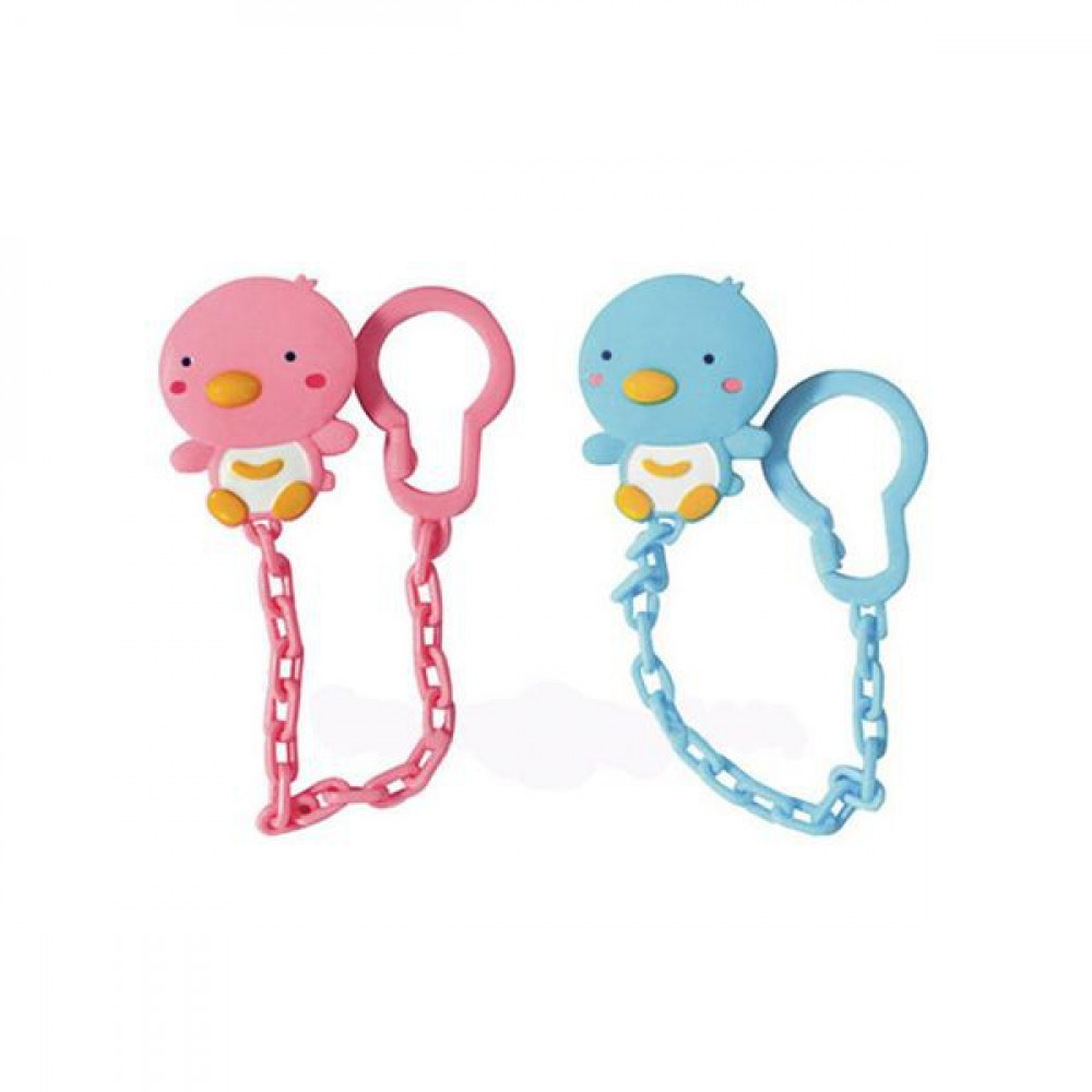 Puku Pacifier Chain Penguin-Ready Stock