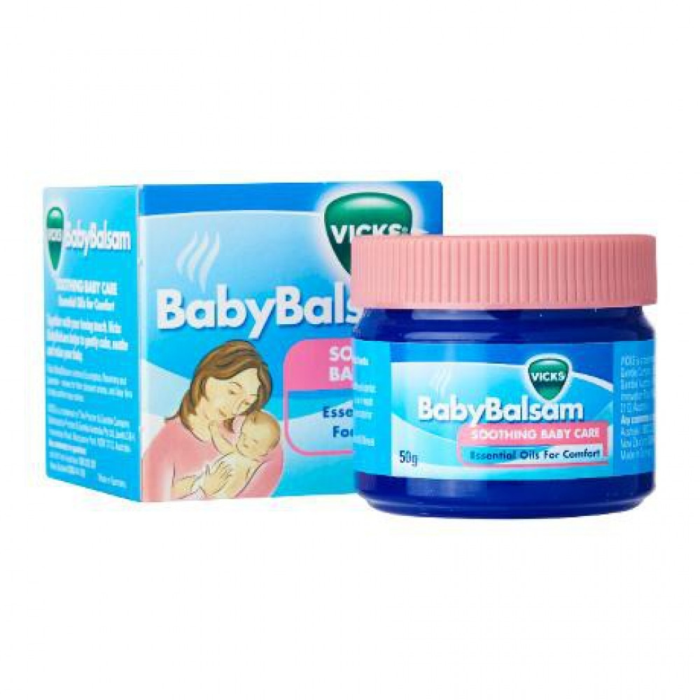 Vicks Baby Balsam 50g-Ready Stock